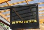 Visate mantém o projeto de instalação de painéis digitais. Equipamento foi testado de 2010 a 2011 na Estação Catedral (Roni Rigon)