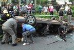 Acidente em Caxias do Sul deixou três jovens mortos nesta madrugada (Brigada Militar, divulgação)