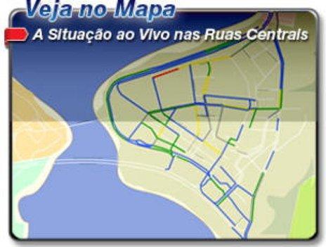(mapa do trânsito)