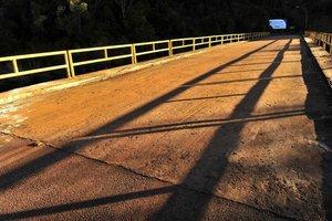 Ponte sobre o rio Peperi-Guaçu, liga o município catarinense de Paraíso com a Argentina (Agencia RBS/Charles Guerra)