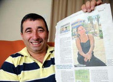 Morador de Itapema, Eliomar Borba reconheceu Yael nas páginas do DC (Agencia RBS/Guto Kuerten)