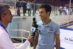 Atleta gaúcho dá entrevista após (Instagram,Reprodução/Marcel Stürmer)