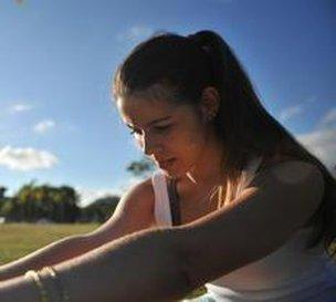 Há dois anos Michelle Alves decidiu dar um basta na vida sedentária e nos quilinhos a mais (Agencia RBS/Lucas Amorelli)