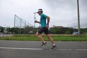 Marwin perdeu 22 quilos e se tornou corredor (Agencia RBS/Lucas Amorelli)