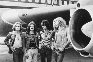 Led Zeppelin (D) e Oasis (Divulga��o/Ag�ncia RBS/Kevin Westenberg/Diego Vara)