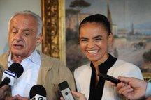 Senador Pedro Simon apoiou Marina Silva em sua campanha pela Presidência em 2010 (Agencia RBS/Mauro Vieira)