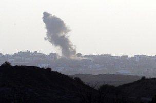 Mais de 10 mil palestinos morreram desde o início do conflito (AFP/DAVID BUIMOVITCH)