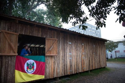 Acampamento abriu oficialmente no dia 12 de junho (Agencia RBS/Marcelo Oliveira)