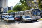 No aspecto rodoviário, o estudo propõe a implantação de BRT (Bus Rapid Transit), de VLT (veículo leve sobre trilho), monotrilhos, metrôs e trens urbanos em 18 regiões metropolitanas (Agencia RBS/Caio Marcelo)
