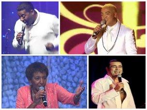Netinho, Belo, Lecy Brandão e Elymar Santos são artistas que enfrentam o desafio das urnas em outubro (YouTube/Reprodução)