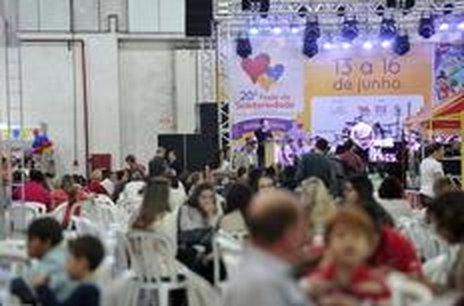 Abertura da Festa da Solidariedade do ano passado (Agencia RBS/Leo Munhoz)