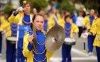 Desfile festivo em comemoração ao 65° aniversário de Guaramirim (Agencia RBS/Maykon Lammerhirt)