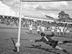 Os dois tradicionais clubes já duelaram 44 vezes, como neste 5 a 1 para o Inter em 6 de junho de 1971 (Arquivo Pessoal/Acervo Inter de Lages)