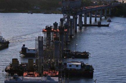 Estrutura de 3 mil metros de extensão está sendo finalizada (Agencia RBS/Charles Guerra)