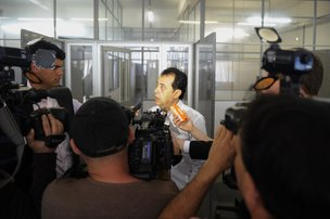 Lindomar Souza, chefe de investigações, afirma que a Polícia pretende intimar suspeitos ainda nesta segunda (Marcelo Oliveira)