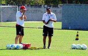 Tricolor treinou na manhã desta segunda-feira no CT do Morro do Meio (Agencia RBS/Salmo Duarte)