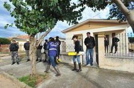 Polícia realizou reconstituição do crime no último dia 25 de agosto (Agencia RBS/Jean Pimentel)