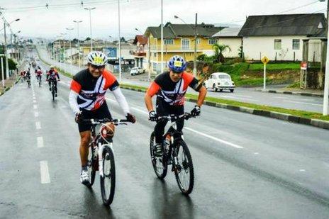 O objetivo do desafio é mostrar a versatilidade e autonomia da bicicleta (Divulgação/Alessandro Castilhos)