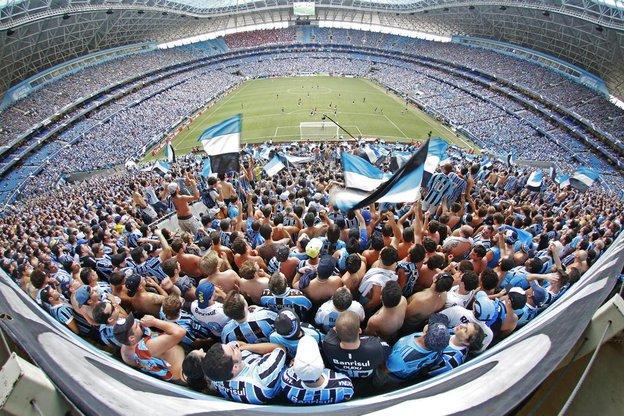 Atos racistas levaram Grêmio a suspender atividades da Geral (Agencia RBS/Omar Freitas)
