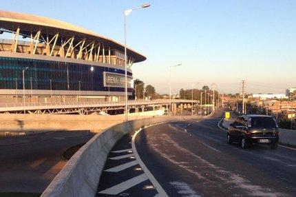A velocidade máxima no local é de 30 km/h (Agencia RBS/Adriana Franciosi)