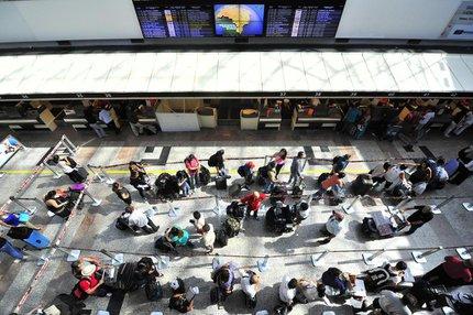 No primeiro semestre do ano, 10,6 milhões de passageiros desembarcaram nos aeroportos brasileiros em voos internacionais (Agencia RBS/Lauro Alves)