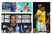 (Montagem sobre fotos de Vanderlei Almeida e Ronaldo Schemidt AFP)/Andr� Podiacki (Ag�ncia RBS) e Divulga��o (FIVB))