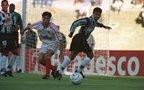Alex Xavier (de branco) foi revelado pelo Inter-SM (Agencia RBS/Fernando Gomes)