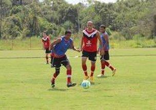 Elenco tricolor treinou na manhã deste sábado no CT (Divulgação/Assessoria JEC)