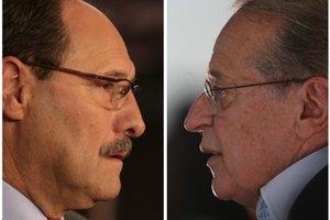 Candidato do PMDB manteve a mesma vantagem sobre Tarso em votos válidos (Agência RBS/Montagem sobre fotos de Ricardo Duarte e Fernando Gomes)