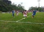 No Estádio Albano Schmidt, a Tupy, de azul, venceu por 2 a 1 e se classificou (Agência RBS/Lucas Balduino)
