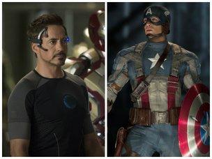 Robert Downey Jr. interpretará o Homem de Ferro novamente na terceira sequência de Capitão América (Divulgação/Montagem/Marvel)