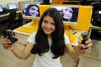 Tainá teve que fazer um trabalho em vídeo para participar do concurso (Agencia RBS/Maykon Lammerhirt)