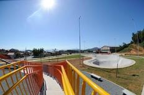 Pista de skate é uma das opções de lazer (Agencia RBS/Claudia Baartsch)