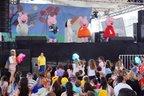 A apresentação da Peppa Pig fez muito sucesso entre a criançada (Agencia RBS/Marcos Porto)