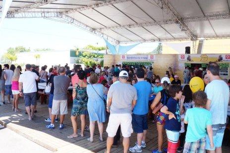 Sardinha faz sucesso e continua líder de preferência e nas vendas em 26 edições da festa (Agencia RBS/Marcos Porto)