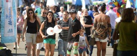 Público compareceu principalmente no fim de semana, quando mais de 44 mil pessoas estiveram na festa (Agencia RBS/Marcos Porto)