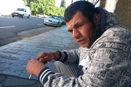 Pezão agrediu jovem no Centro de Caxias do Sul (Adriano Duarte/ Agência RBS)
