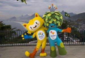 Mascote olímpico representa a diversidade dos animais do país, enquanto o paralímpico mistura referências à flora (Divulgação/Alex Ferro)