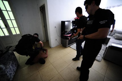 Risclei Bueno Martins foi preso na manhã desta quinta-feira, em Canoas (Agencia RBS/Ronaldo Bernardi)