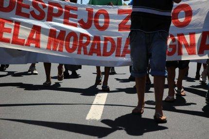 Declaração de ocupações como AEIS é uma demanda do Fórum das Ocupações Urbanas da Região Metropolitana (Agencia RBS/Jefferson Botega)