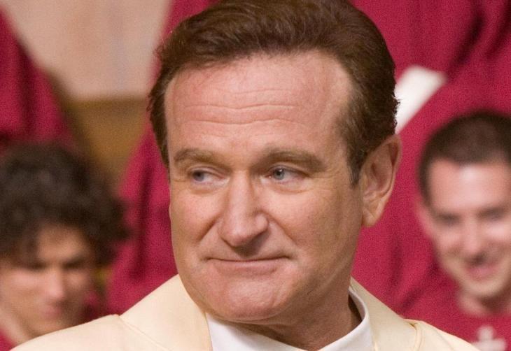 Robin Williams (+ 11/08/2014). Ator deu vida ao médico Patch Adams no cinema, venceu o Oscar de melhor ator coadjuvante por Gênio Indomável e protagonizou outros tantos sucessos, como Amor Além da Vida, O Homem Bicentenário e Sociedade dos Poetas Mortos (Ver Descrição/Ver Descrição)