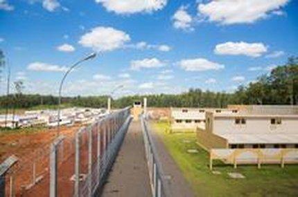 A Penitenciária Canoas 1 deveria receber neste mês presos que estão atualmente em Montenegro, mas a obra atrasou (Agencia RBS/Omar Freitas)