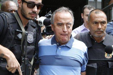 Ex-diretor da Petrobras Nestor Cerveró foi preso em janeiro (AGÊNCIA DE NOTÍCIAS GAZETA DO POVO/ESTADÃO CONTEÚDO/JONATHAN CAMPOS)