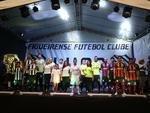 Apresentação do uniforme 2015 do Figueirense (Marco Favero/Agencia RBS)