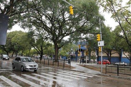 Faixa exclusiva para ciclistas passará pelo canteiro central da Avenida Erico Verissimo (Divulgação/Cristine Rochol)
