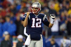 Tom Brady jogará o sexto Super Bowl de sua carreira (Jim Rogash / GETTY IMAGES NORTH AMERICA / AFP)