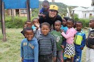 Felipe Villela trabalhou com órfãos na África do Sul (Arquivo Pessoal/arquivo pessoal)