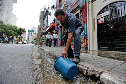 O zelador cearense José Senna afirma nem no Nordeste enfrentou seca semelhante (Agencia RBS/Diego vara)