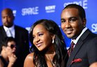 Bobbi Kristina Brown e o marido, Nick Gordon, em 2012 (AFP/Frazer Harrison)