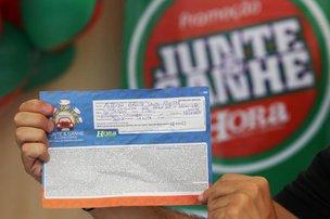 O cupom sorteado (Agencia RBS/Betina Humeres)